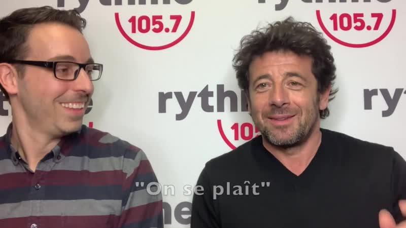 Patrick Bruel Pars moi une toune avec Patrick Bruel 27 04 2019 Rythme 105 7
