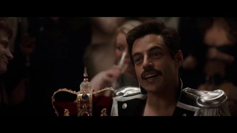 Bohemian Rhapsody Freddie's Party Scene Rami Malek Freddie Mercury