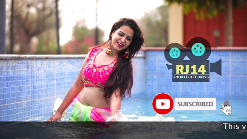Sania in Pool Saree Lover Hot Sari Latest Fashion RJ14 Productions