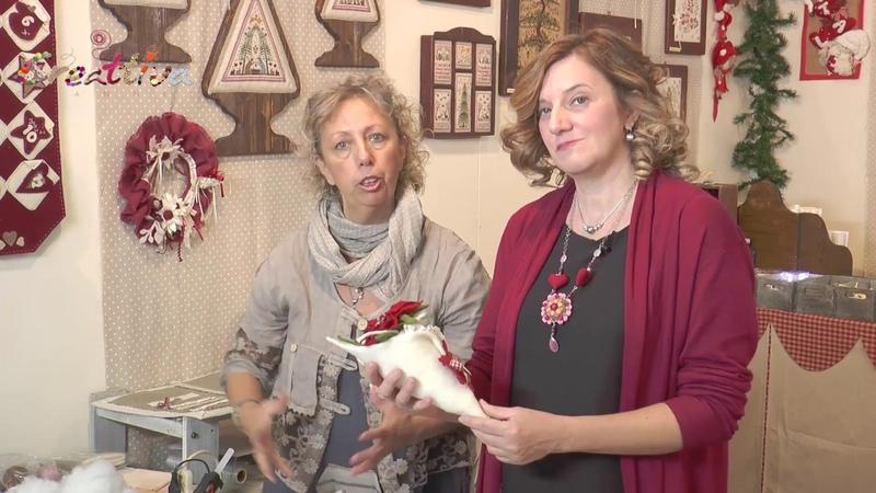 Video CreattivaChannel Decorazione di Natale porta dono e stella Natalizia
