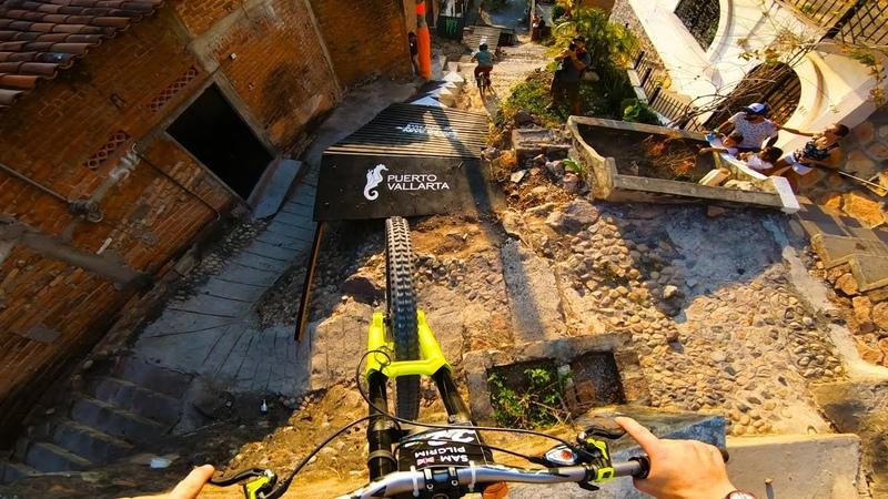 GoPro Sam Pilgrim's Urban DH MTB Down Puerto Vallarta