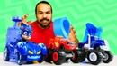 A nova pista de corrida Blaze and the Monster Machines PJ Masks Brinquedos em Português