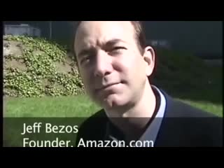 """The """"lost"""" jeff bezos 1997 interview just about a year after starting amazon."""