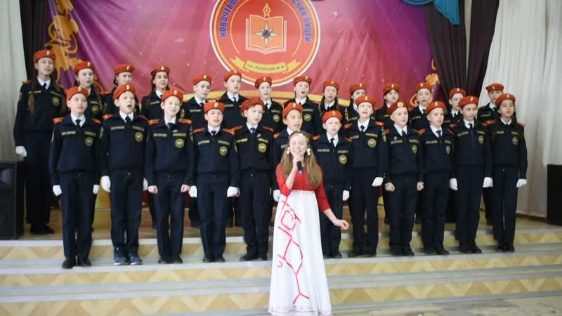 Кадеты 6А - 100 летию Чувашской автономии