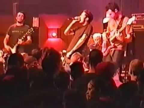 Glassjaw Live in Club Laga Pittsburgh Pennsylvania USA 23 04 2002