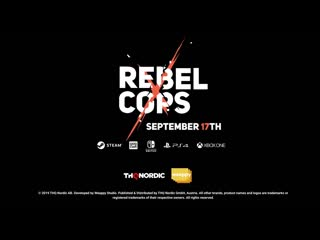 Rebel cops —свежий трейлер