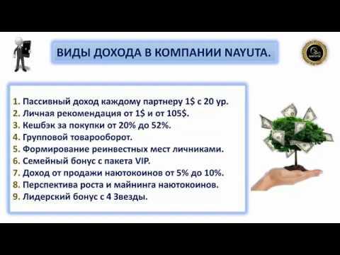NAYUTA Наюта авторский маркетинг без обязательств Продукция для здоровья