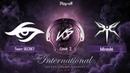 Team Secret vs Mineski Game 2 Loser Bracket The International 2019