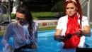 Wetlook Girls In A Pool 18