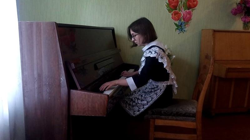 Сарахман Алина 15 лет К Дебюсси Девушка с волосами цвета льна