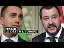 Italie : un programme économique qui entend mettre fin à l'austérité