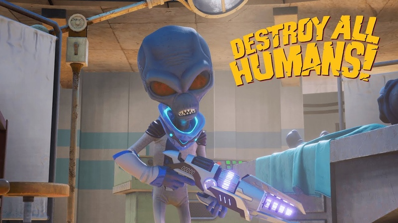 Destroy All Humans Welcome to Area 42