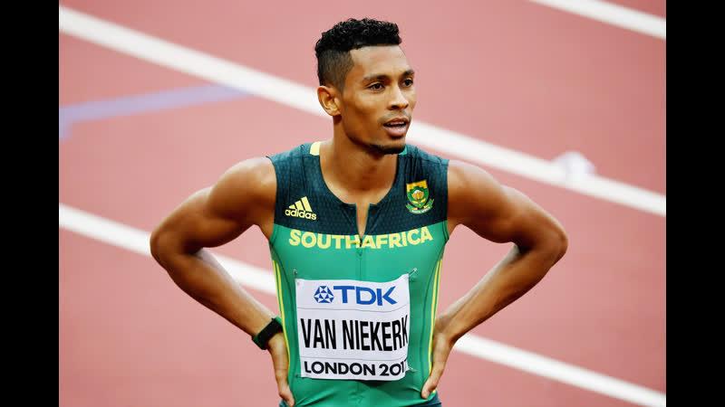 2016 Rio Olympics 400m World Record 43 03sec Wayde van Niekerk South African Team Reaction