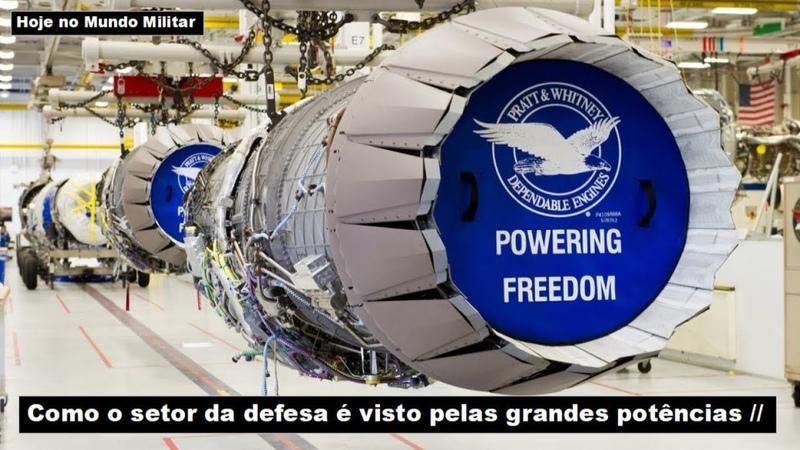 Como o setor da defesa é visto pelas grandes potências
