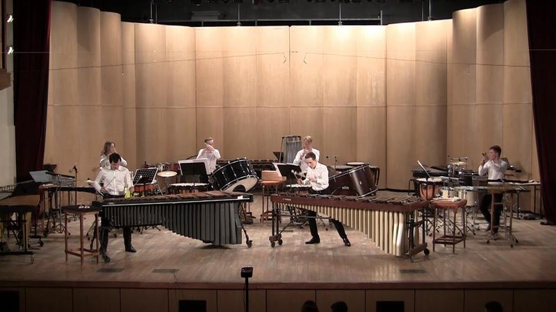 Keiko Abe The Wave Gnesin percussion ensemble