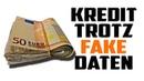 75 000€ Kredit trotz falscher Daten bekommen