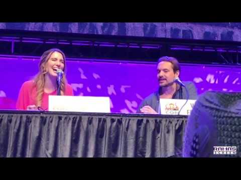 KIM POSSIBLE Voice Stars Panel with Christy Carlson Romano and Will Friedle