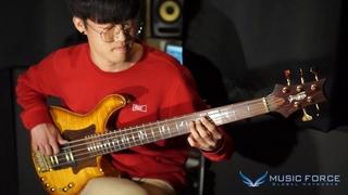 """[MusicForce] PRS Private Stock Gary Grainger Signature 5 Bass Demo - Bassist 우현하 """"Modo"""""""