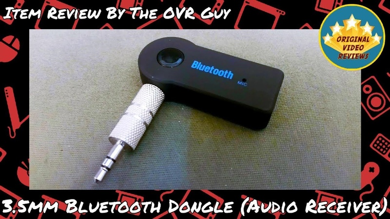 3 5mm Bluetooth Dongle Audio Receiver Review