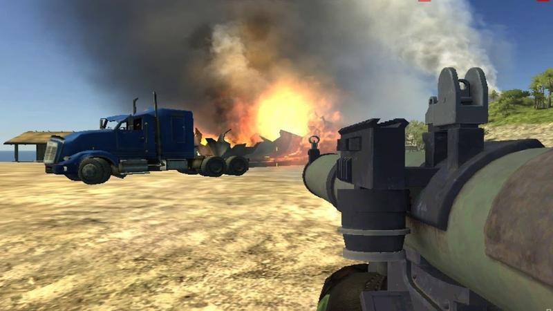 Battlefield 2 xp2 oiltruck destr