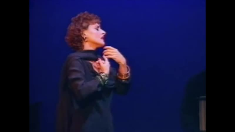 Patti Lupone as Norma Desmond With One Look Sunset Boulevard by Andrew Lloyd Webber 1992