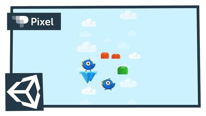 Создаем игру аналог Doodle jump в Unity (школа Pixel)