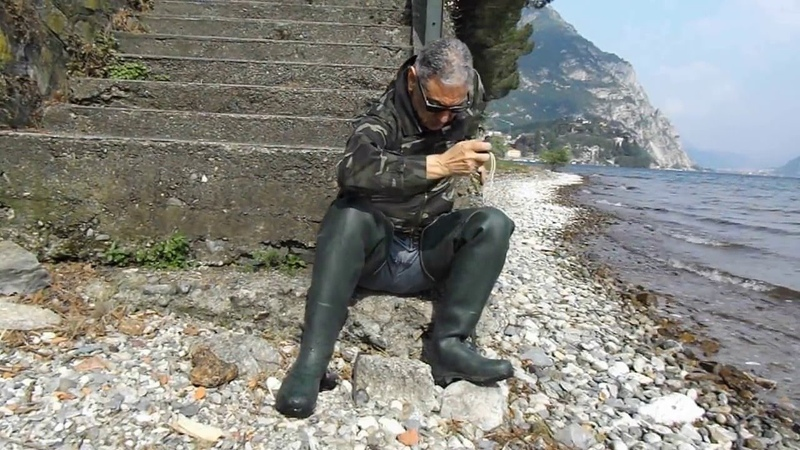 Le chameau waders wathosen deltanord limaille rubberboots