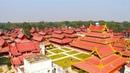 Wonderful Myanmar Самая большая мраморная книга и Деревянный Королевский Дворец в Мандалае