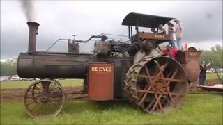 Reeves 40-140 plowing at Cedar Valley Memories, Osage IA 2015