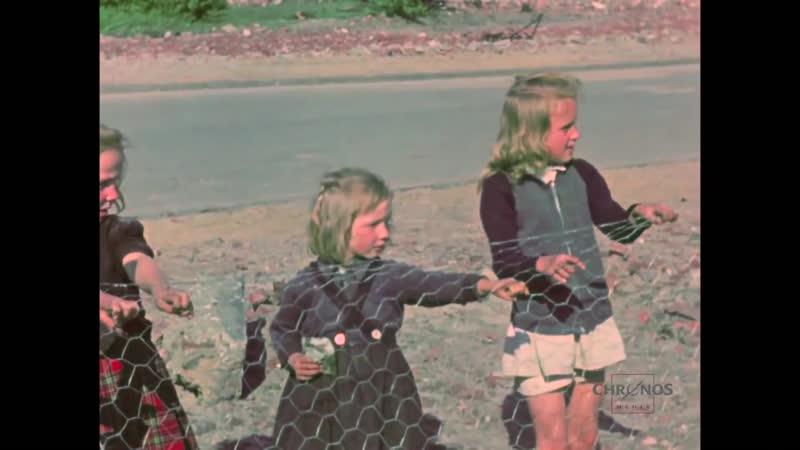 Hamburg 1948 Einzigartige Filmaufnahmen in Farbe und HD