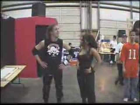 Nate Webb entrance [IWA MS KOTDM 2003]