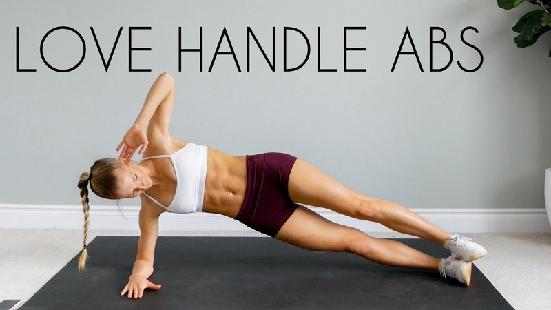 10 MIN ABS Love Handle Muffin Top Workout