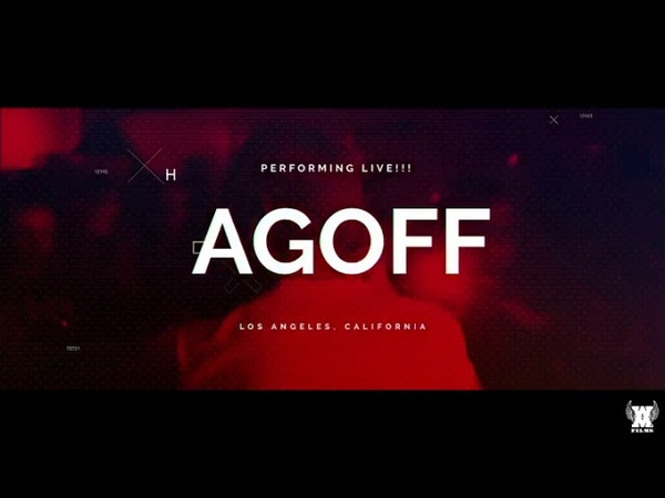 AGoff Performs Live In Los Ángeles (10/11/2019) RARE COLLECTIBLE