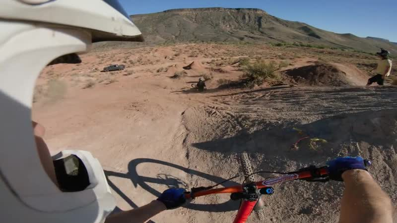 I'M IN FREERIDE HEAVEN! Original Rampage site! - Virgin, Utah _ Jordan Boostmast