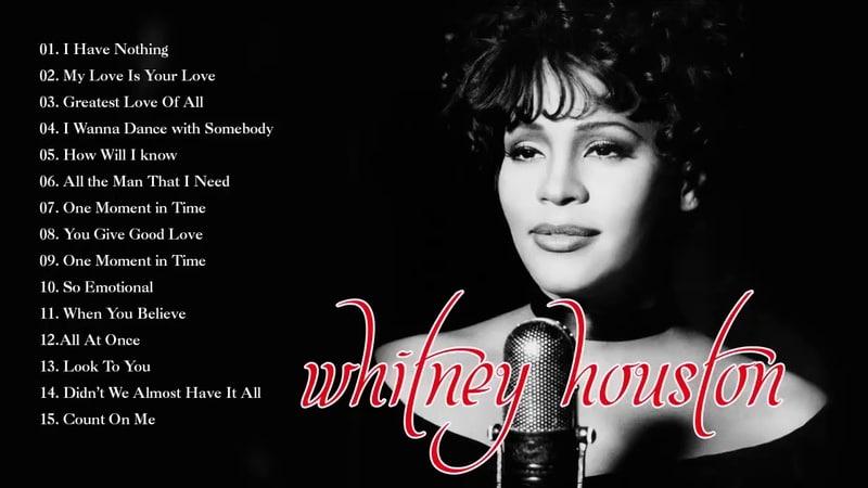 휘트니 휴스턴 위대한 성공 전체 커버 2019 - 휘트니 휴스턴의 베스트 || Whitney Houston Grandes Exitos Cubie