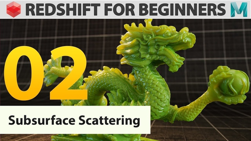 Redshift for beginners 02 Subsurface Scattering