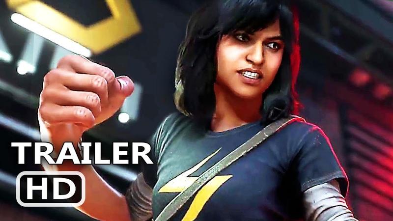 PS4 - Marvel's Avengers Kamala Khan Gameplay Trailer (2020)