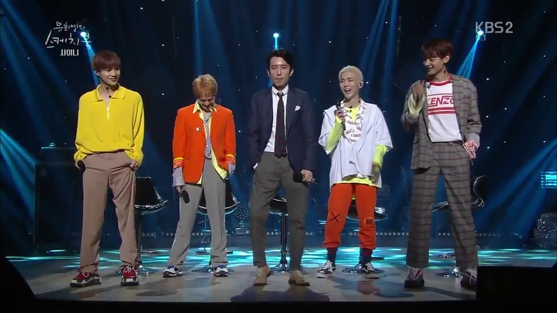 SHINee dancing to Move YHY Sketchbook