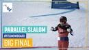 Joerg vs Zogg Women's Big Final PSL Bannoye FIS Snowboard