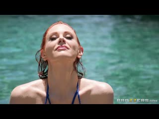 Maitland Ward - Wet And Wild _  All Sex Big Tits Oil Redhead Doggyst