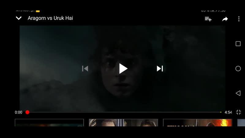 Озвучил фильм Властелин Колец Братство Кольца