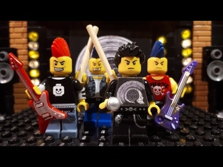 Bricks Fitter - Concert LEGO Punk ft. Human DogFood