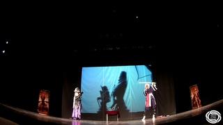 Fate Grand Order - Amakusa Shirou Tokisada, Jeanne d'Arc Alter (Парное косплей-дефиле) - SOS 2019
