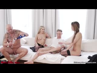 We cum to you (vienna with lena nitro, little caprice)