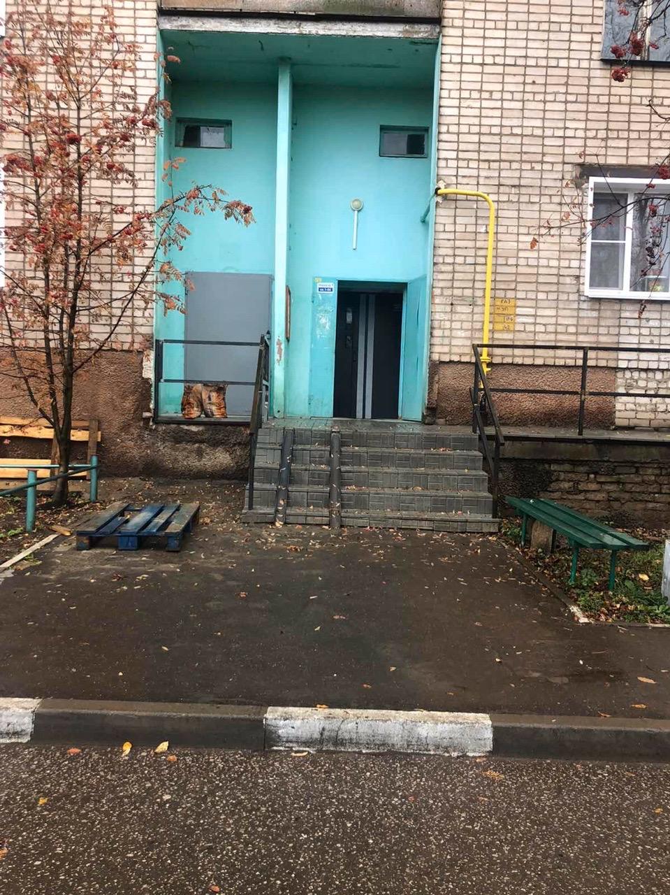 Улица Ердякова дом 16 подъезд 1 ремонт
