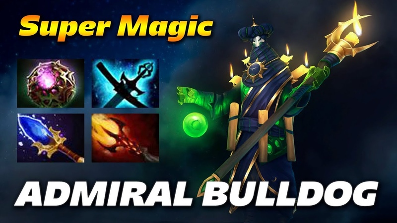 AdmiralBulldog Rubick Super Magic Carry Dota 2 Pro Gameplay