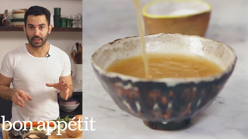 Andy Makes the Most Flavorful Vegan Broth Ever   Bon Appétit