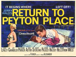 Return to Peyton Place (1961)  Carol Lynley, Jeff Chandler, Eleanor Parker