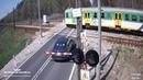 Polskie Ulice 128 Kierowco włącz myślenie , pociąg to nie zabawka