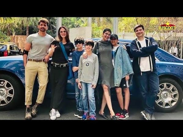 Inside Viedos: Hrithik Roshan, Sussanne Khan, Sonali Bendre, Goldie Behl's Sunday Brunch Scenes